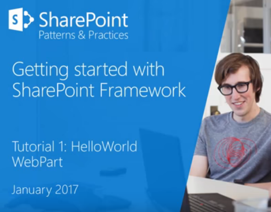 SPFx for SharePoint 2016 On-Prem