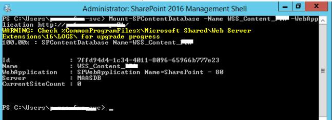 """Monter la base de données de contenu PWA - Mise à niveau vers Project Server 2016 """"srcset ="""" https://mohamedelkassas.files.wordpress.com/2017/10/mount-spcontentdatabase-project-server-2016-result.png?w=648 648w, https : //mohamedelkassas.files.wordpress.com/2017/10/mount-spcontentdatabase-project-server-2016-result.png? w = 150 150w, https://mohamedelkassas.files.wordpress.com/2017/10/ mount-spcontentdatabase-project-server-2016-result.png? w = 300 300w, https://mohamedelkassas.files.wordpress.com/2017/10/mount-spcontentdatabase-project-server-2016-result.png 672w """" tailles = """"(largeur maximale: 648px) 100vw, 648px"""