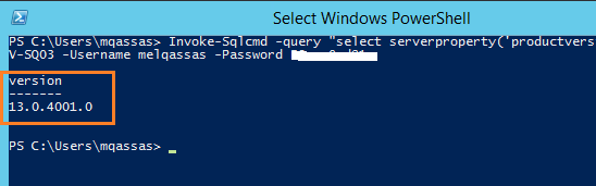 Detect the Current Cumulative Update / Service Pack