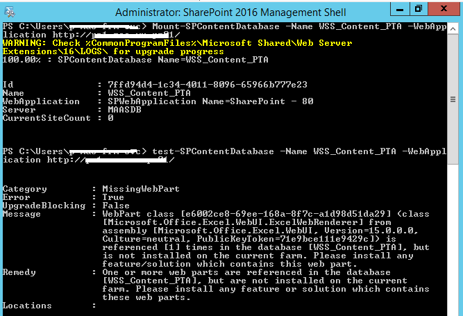 Upgrading to Project Server 2016