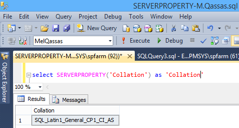 SQL Server: Get the Detailed Information Via SERVERPROPERTY | EPM