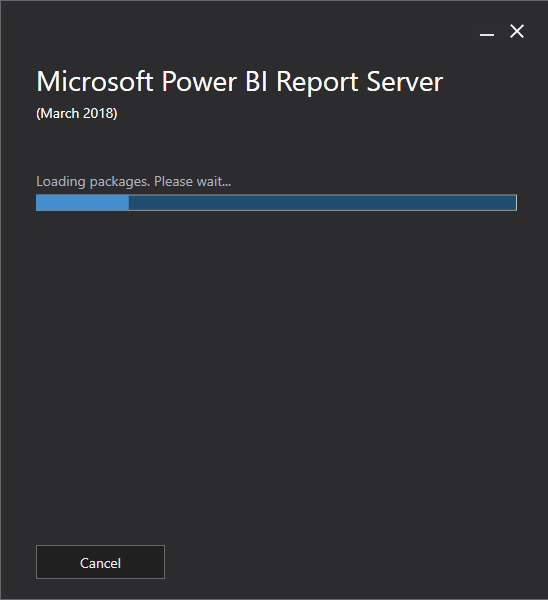 Install and Configure Power BI Report Server March 2018