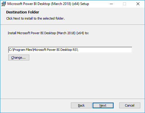 Install Microsoft Install Power BI Desktop for Power BI Report Server