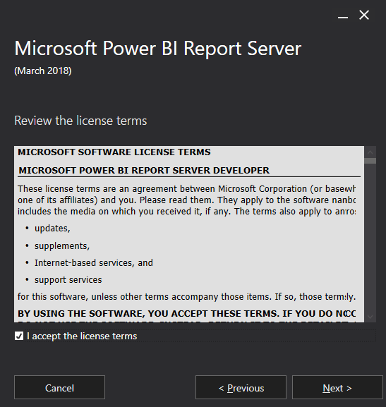 Power BI Report Server License