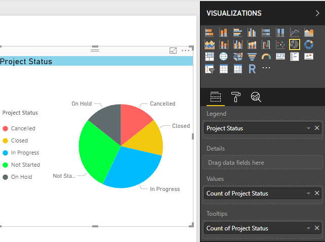 Show items with no data in Power BI