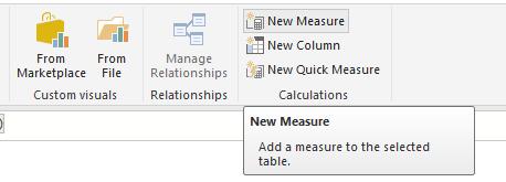 Add Measure In Power BI