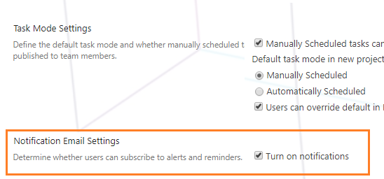 Project Server 2016 doesn't send task assignment alerts