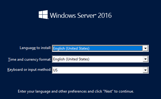 Switch from Server core to GUI in windows server 2016
